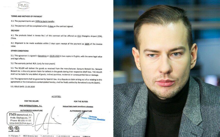 Sulaikytasis Narbutas įtariamas nemenkai pasipelnęs iš Lietuvai gyvybiškai svarbių reagentų pirkimo