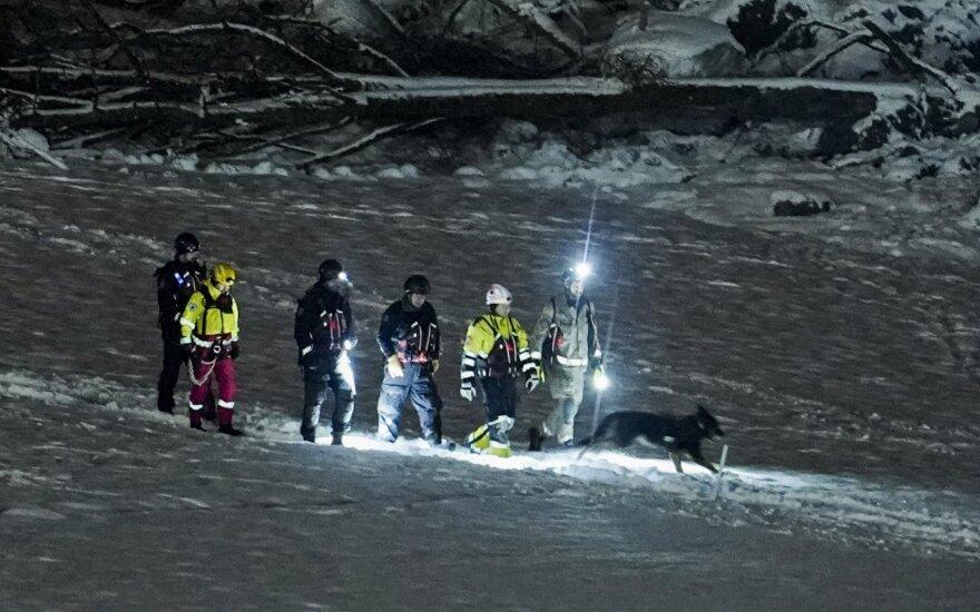 Žiniasklaida: DNR ekspertai patvirtino, kad Norvegijoje po nuošliauža rasta žuvusi lietuvė