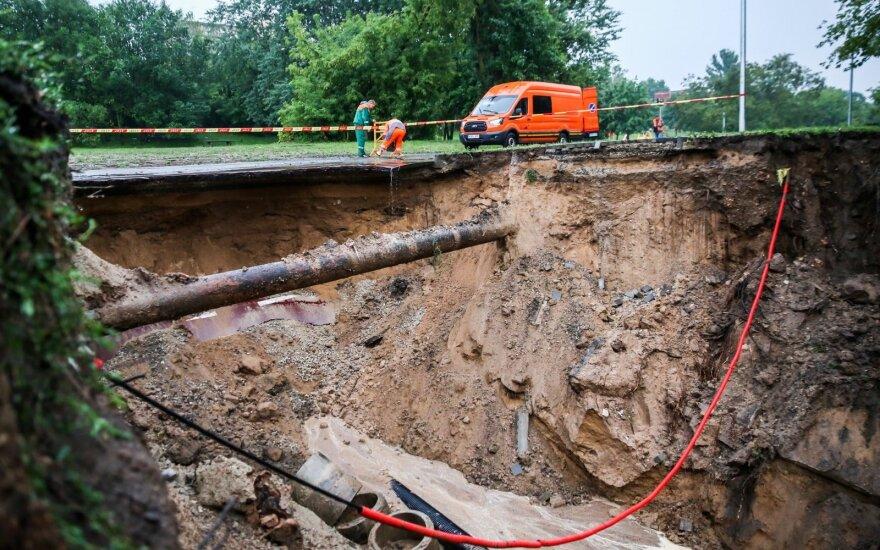 Didžiausios įgriuvos Vilniuje galėjo nebūti: miestiečiai buvo įspėję prieš 2 mėnesius