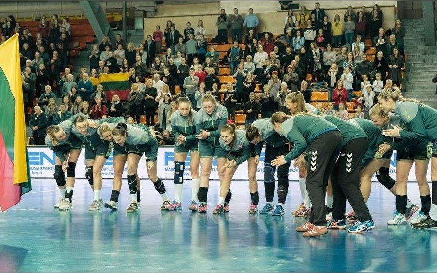 Lietuva - Turkija rungtynių akimirka