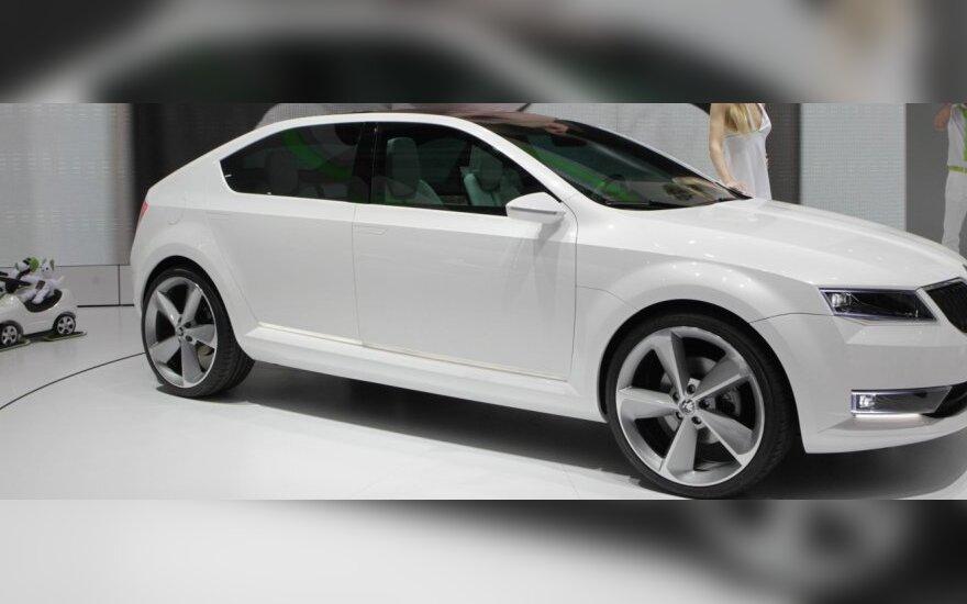 Škoda VisionD koncepcija