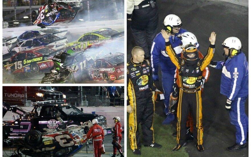 Austino Dillono avarija (AP ir AFP nuotr.)