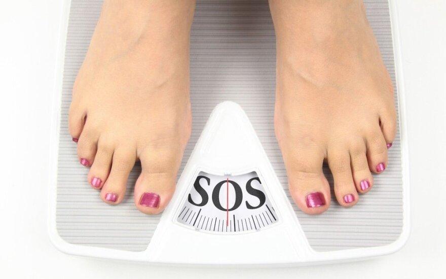 Galite nustebti, kodėl jums nepavyksta numesti svorio