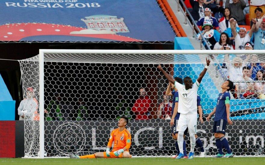 Keturių įvarčių trileryje – Japonijos ir Senegalo rinktinių lygiosios