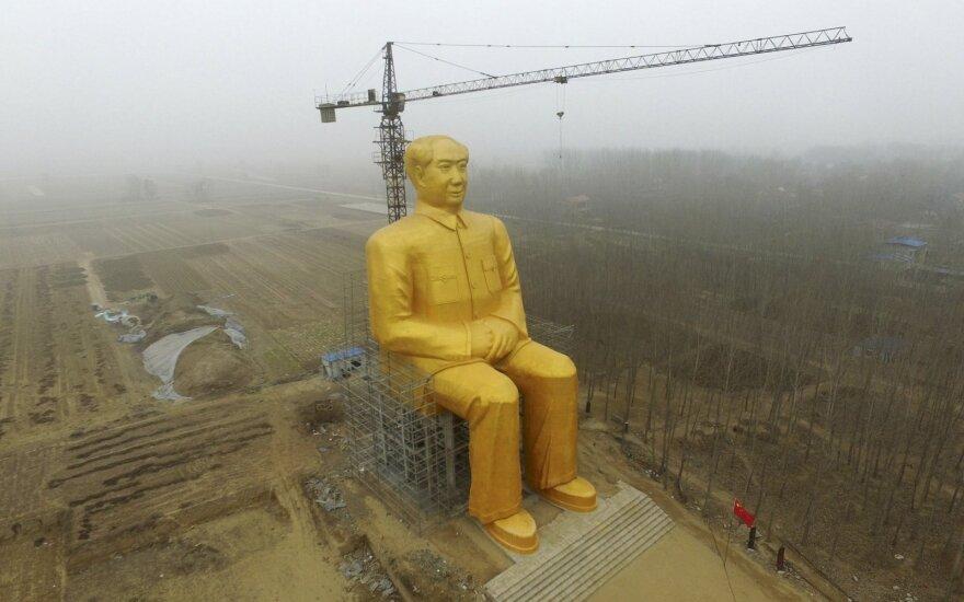 Mao Zedongo skulptūra