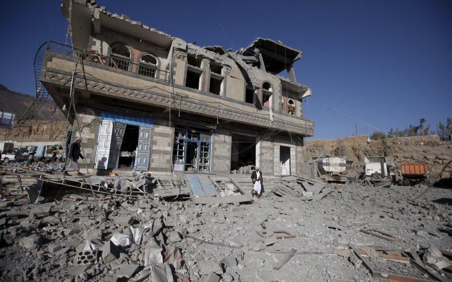 JT: pilietinis karas Jemene iki šiol nusinešė mažiausiai 10 000 žmonių gyvybių