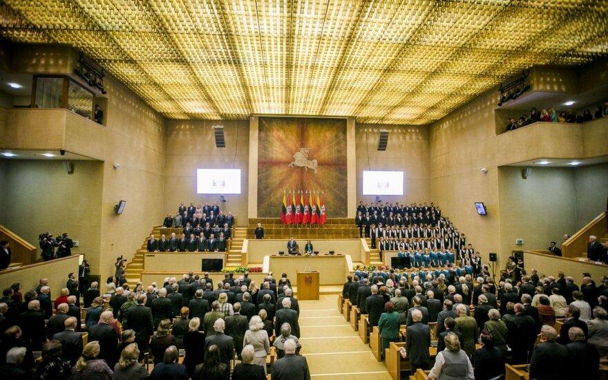Sausio 13-osios išvakarėse Seime – tradicinis Laisvės gynėjų susitikimas