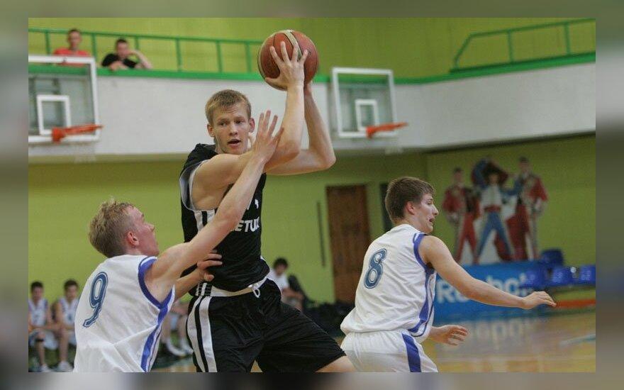 Lietuvos U-18 ir Suomijos U-18 krepšinio rinktinių mačas