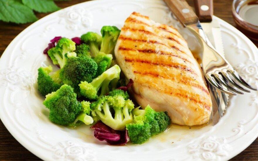 Mitybos specialisto patarimai: kiek ir kokių baltymų reikia kasdien