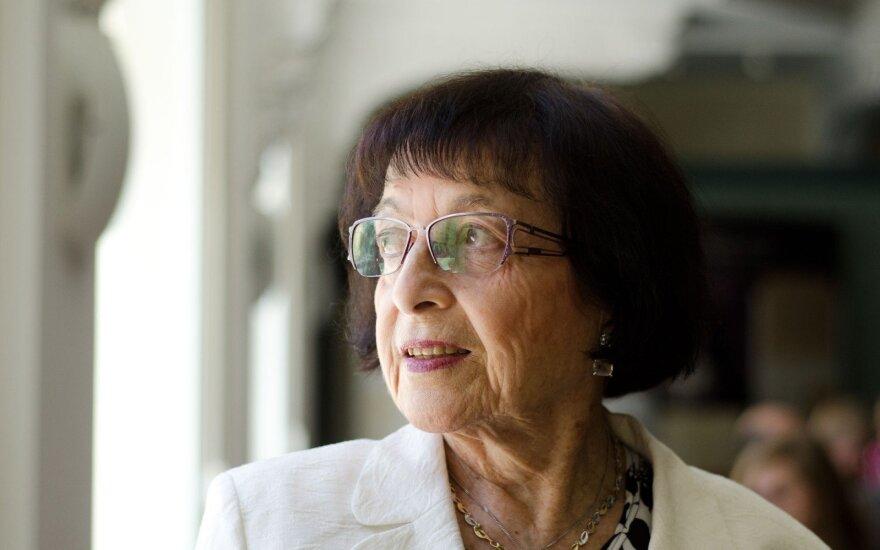Irena Veisaitė (M.Kundroto nuotr.)