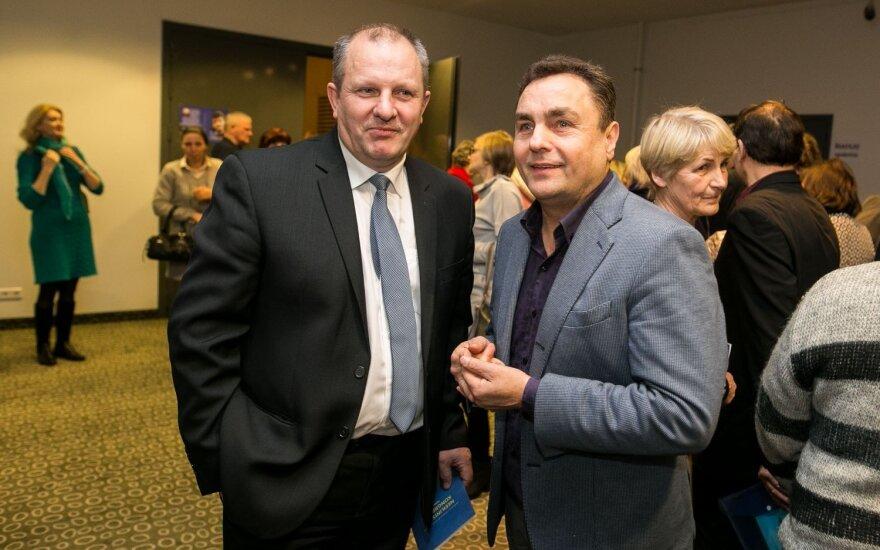 Kęstas Komskis and Petras Gražulis