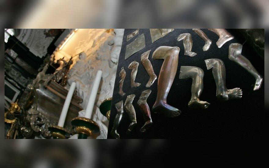 Aušros Vartų koplyčią apvogę narkomanai: reikėjo pinigų narkotikams