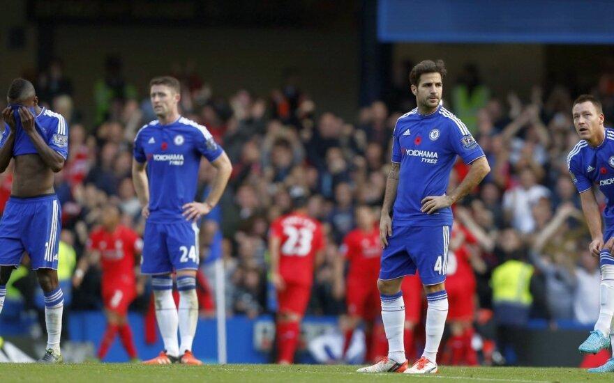 "Londono ""Chelsea"" klubo futbolininkai"
