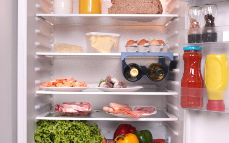 Kaip atsikratyti nemalonaus kvapo šaldytuve?