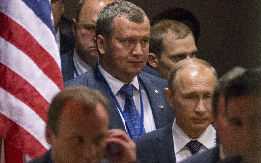 V. Putinas po susitikimo su B. Obama