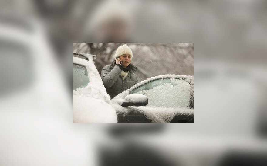 Vairuotojus vargina šaltis