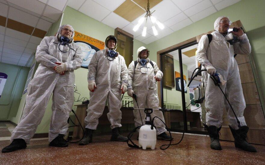 Rusija dėl koronaviruso imasi keistų priemonių