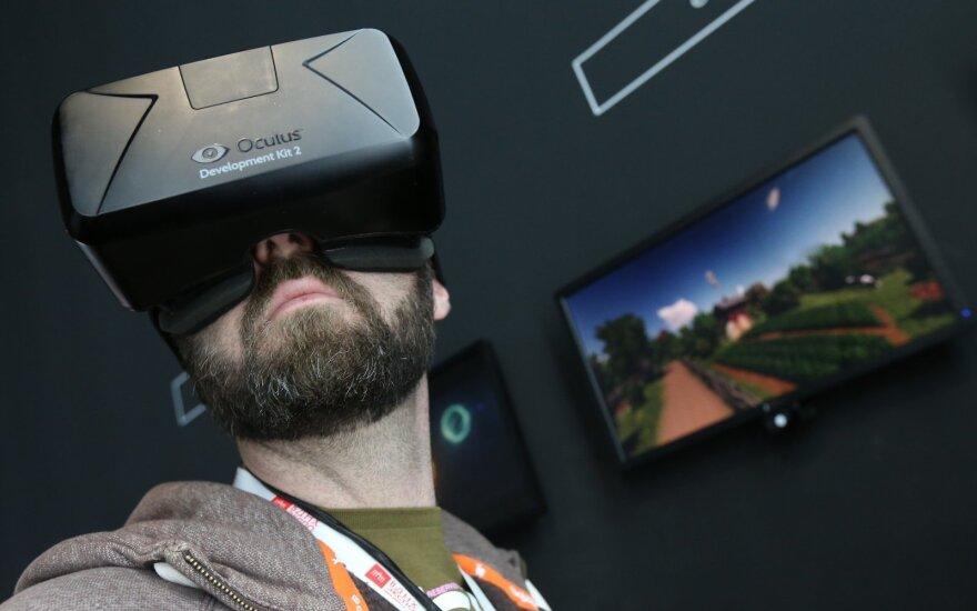 """Virtualios realybės akiniai """"Oculus"""""""