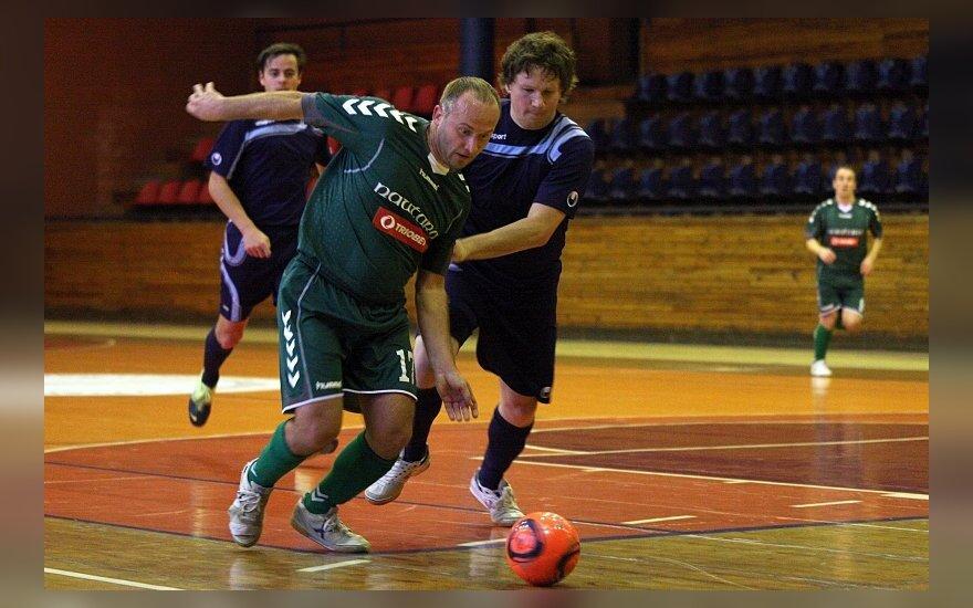"Salės futbolo mačas ""Nautara"" - ""Penalty.lt"""