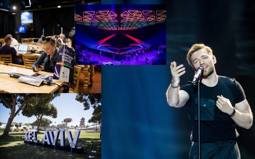 """""""Eurovizija"""" Tel Avive"""