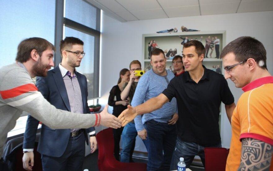 Dainius Zubrus susitinka su Delfi skaitytojais