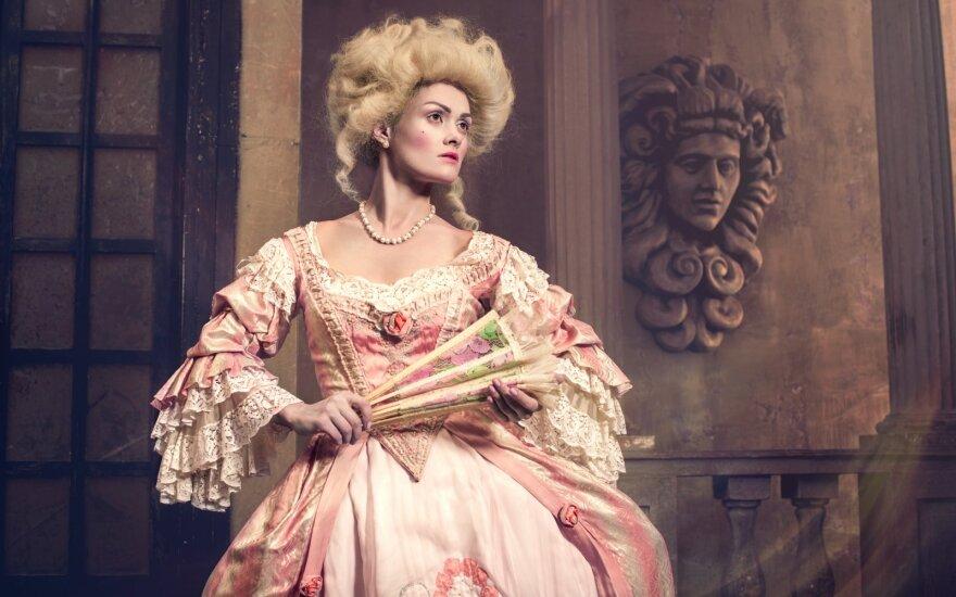 Viktorijos laikų dama