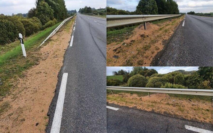 Įsiutino ūkininkų abejingumas: po jų pasivažinėjimo keliais – pora skaudžių avarijų