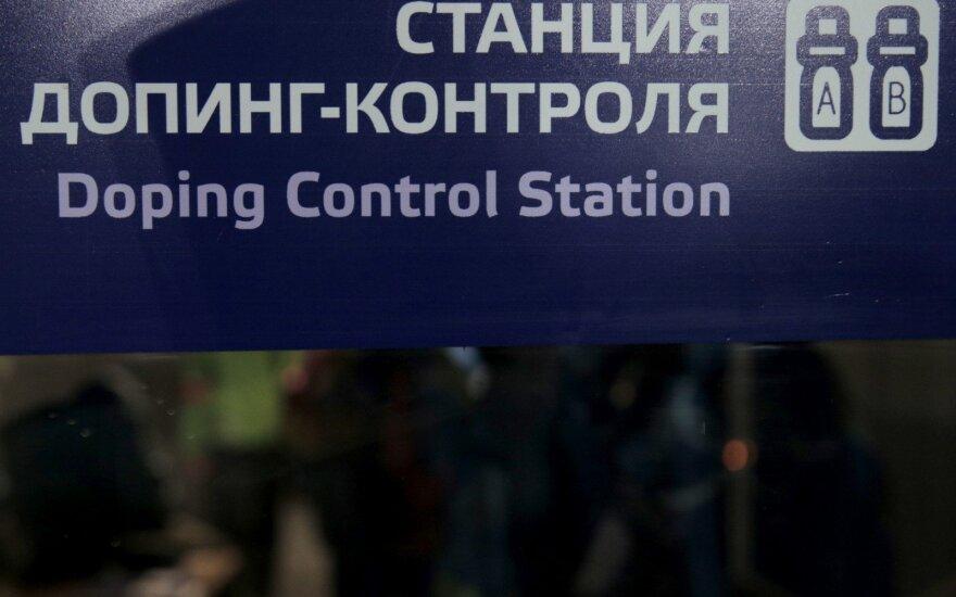Dopingo kontrolės punktas Rusijoje