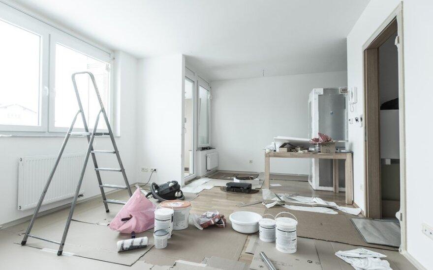 10 patarimų, kaip pradėti ir užbaigti remontą