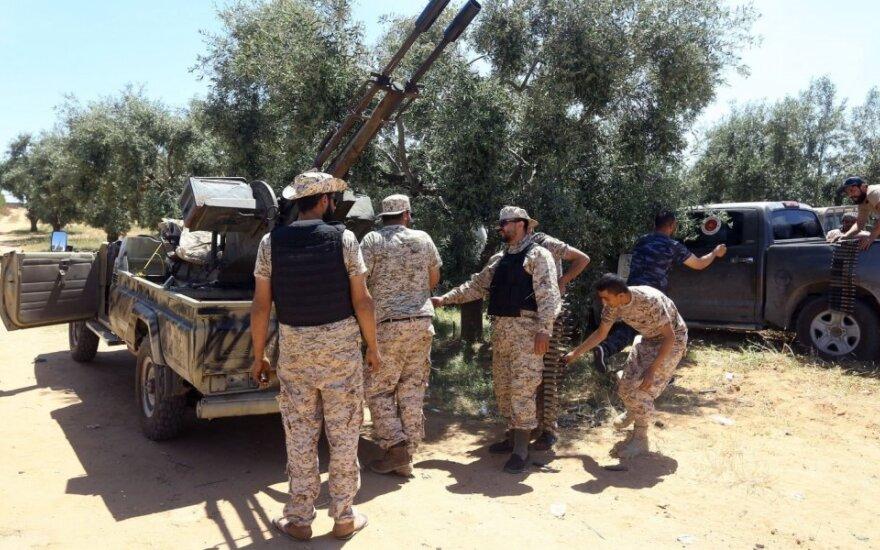 Khalifa Haftaro pajėgos