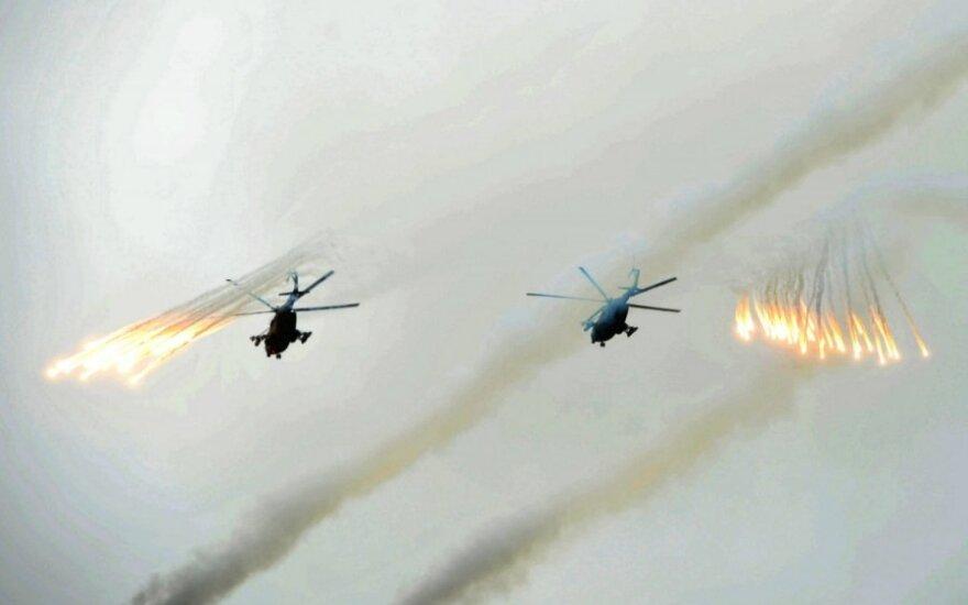 V. Putino patarėjas siūlo smogti Ukrainos kariuomenei