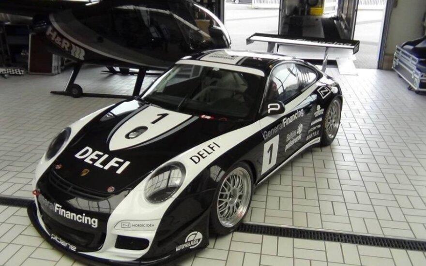 """""""Porsche 911 GT3 Cup S"""" automobilis"""