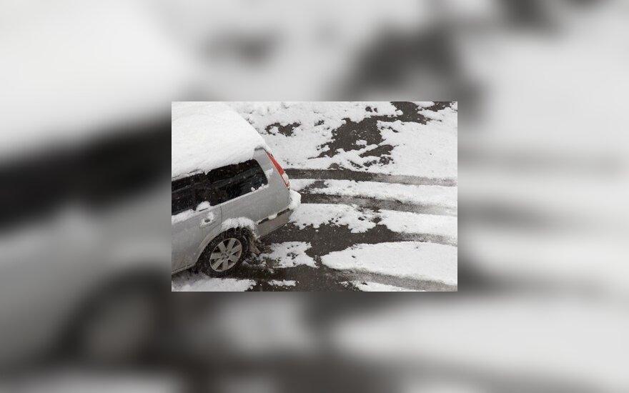 Trys priešnuodžiai eismo nelaimėms žiemą