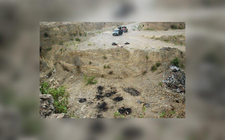 Meksikoje aptikta narkomafijos karo aukų masinio laidojimo vieta