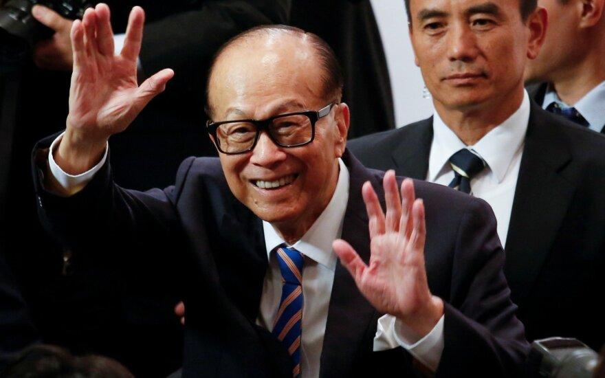 Milijardierius iš Honkongo Li Ka-shing