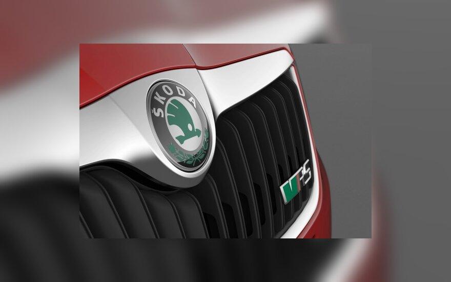 """""""Škoda"""" nori parduoti dvigubai daugiau automobilių"""