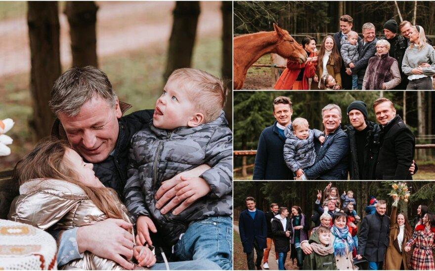 Žvagulių šeimos fotosesija / Foto: Charizma photography