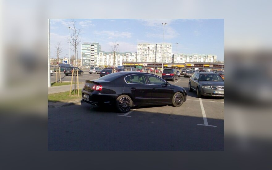 Volkswagen Passat. Skaitytojo nuotr.