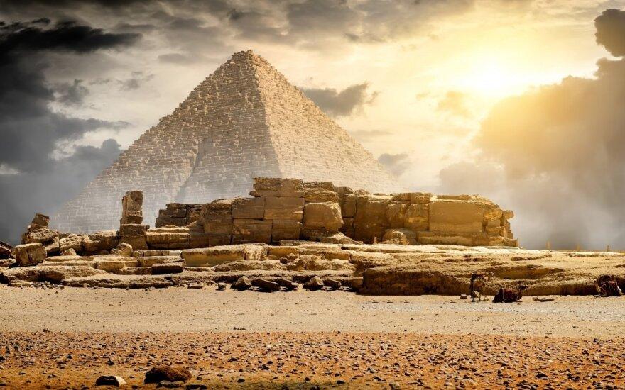 Cheopso piramidė vis dar slepia savo paslaptį
