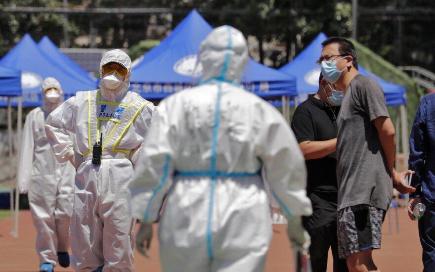 AFP: pasaulyje patvirtintų COVID-19 atvejų skaičius perkopė 8 milijonus
