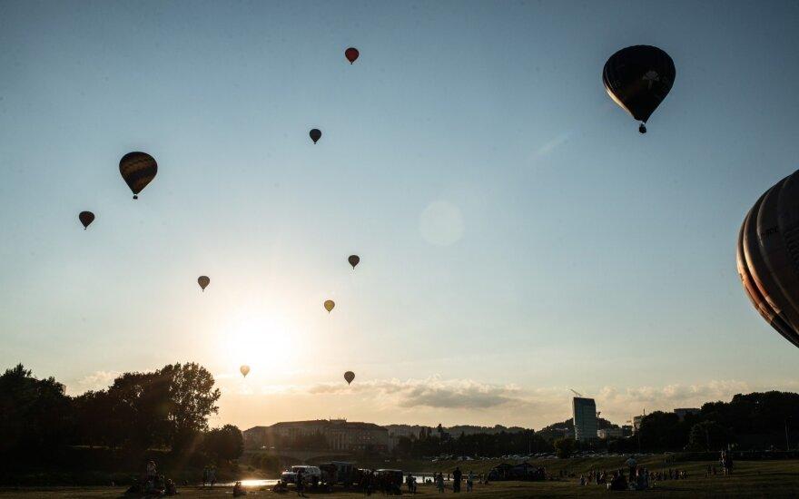 Изменится порядок полётов на воздушных шарах над Вильнюсом