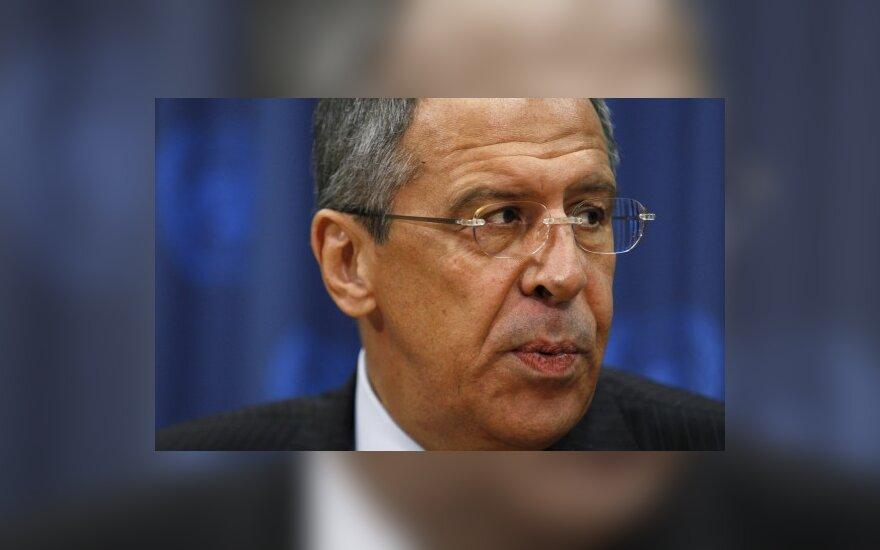 S.Lavrovas: Rusija nepaisys jokių rezoliucijų dėl konflikto Kaukaze