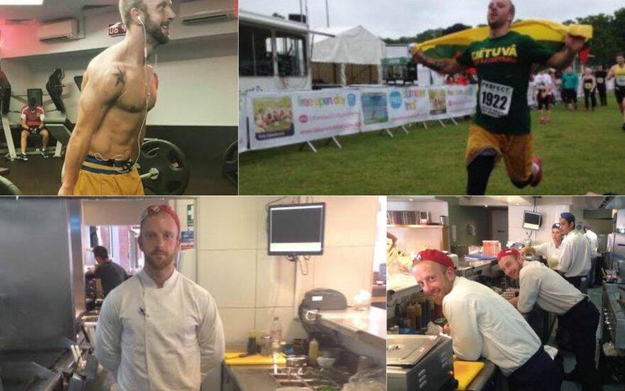 Kaip 122 kg sveriantis virtuvės šefas tapo žaviu sportininku