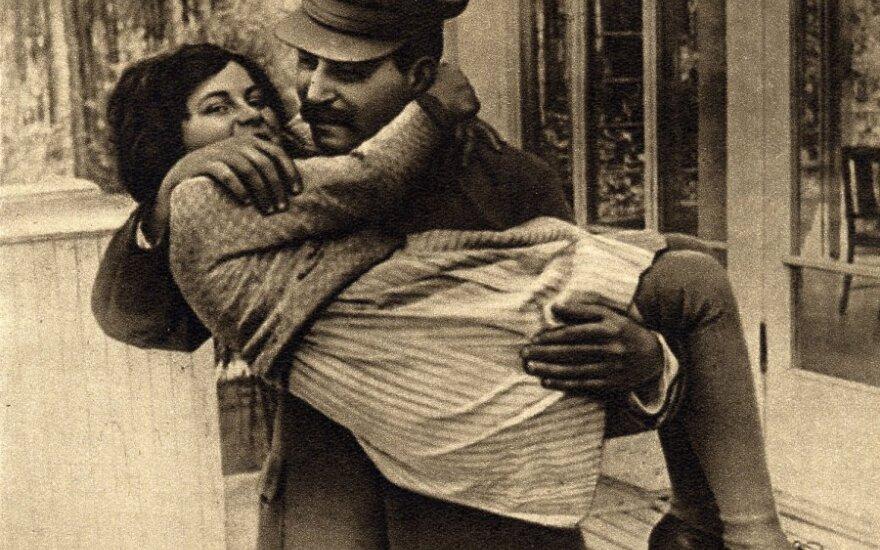Josifas Stalinas su dukra