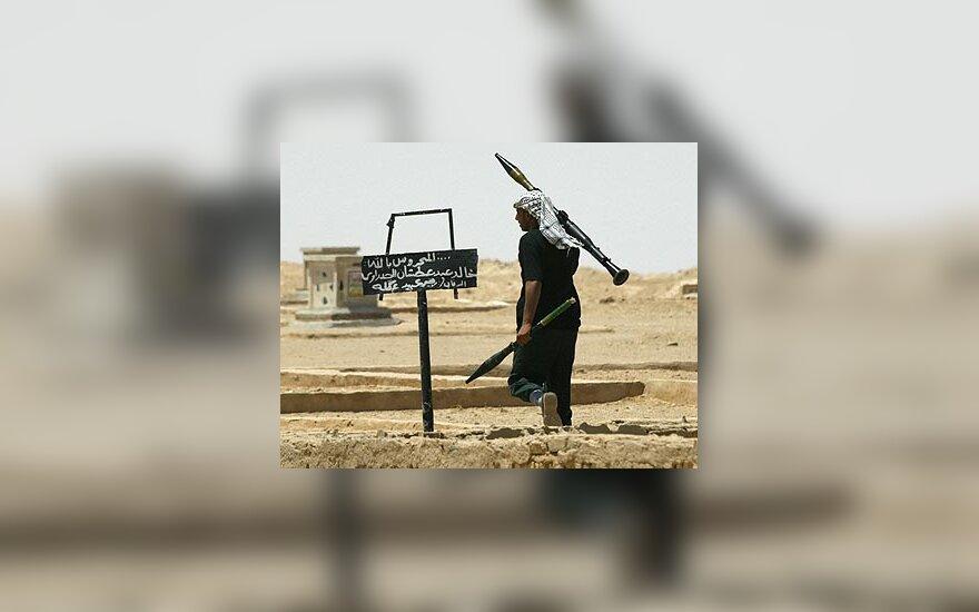 Irakietis kovotojas
