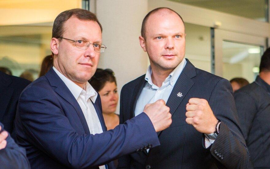 Naglis Puteikis, Kristupas Krivickas