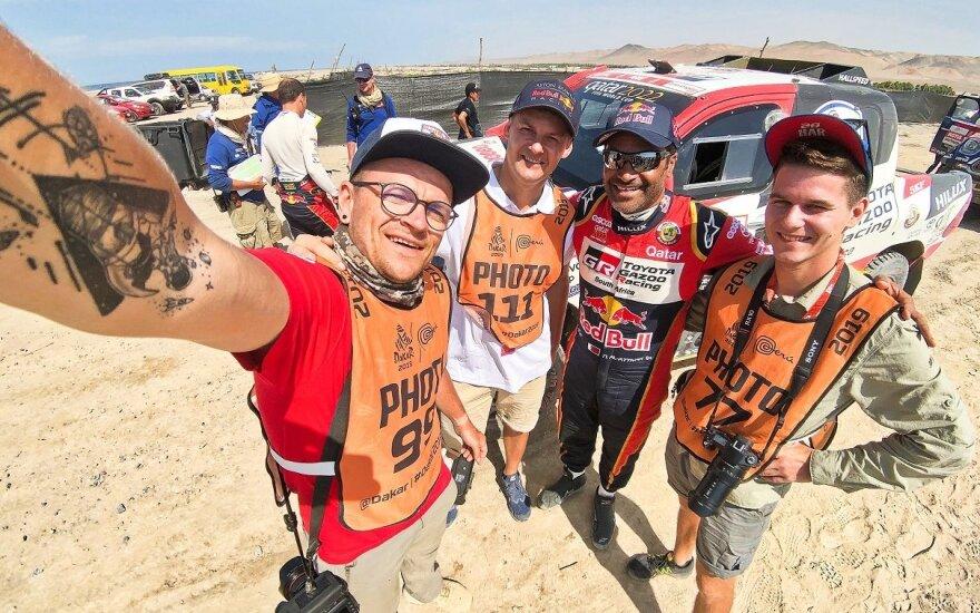 """""""Toyota"""" komanda į Dakaro ralį išvažiuoja su keturiais ekipažais"""