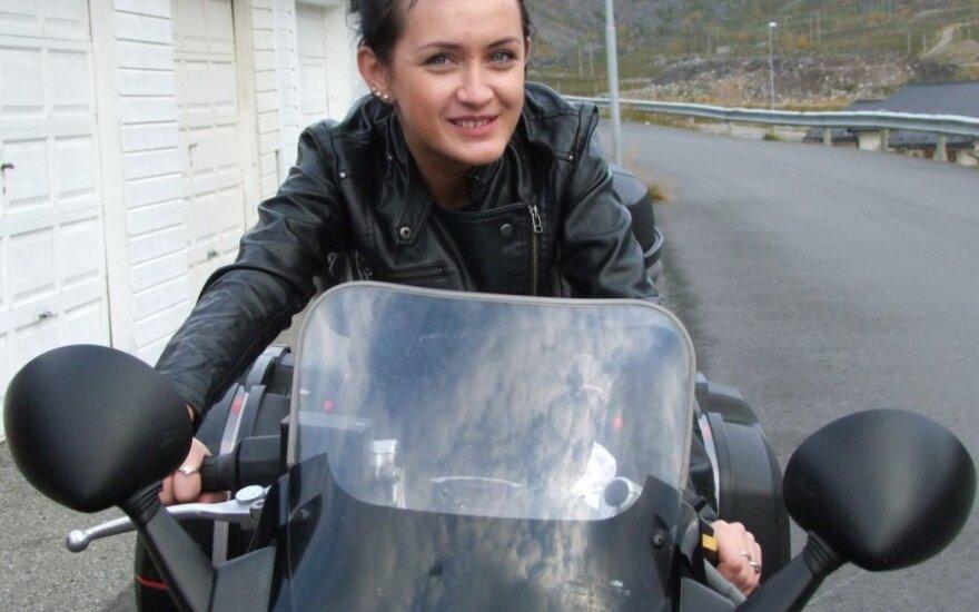 Norvegijoje gyvenanti emigrantė Aistė