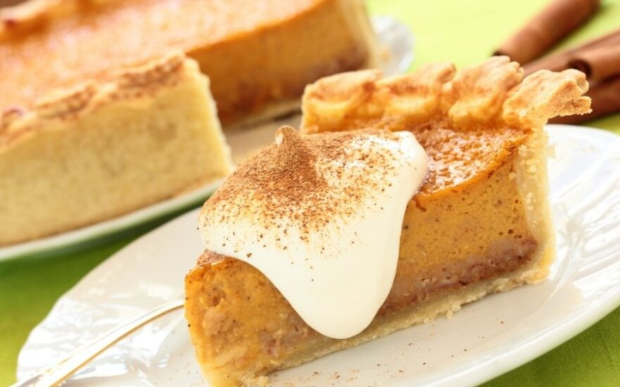 Sūrio pyragas su moliūgais