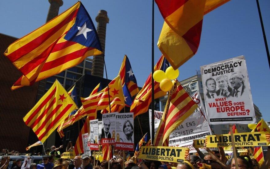 Protestai Katalonijoje